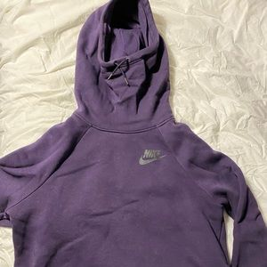 Purple Nike Oversized Sweater